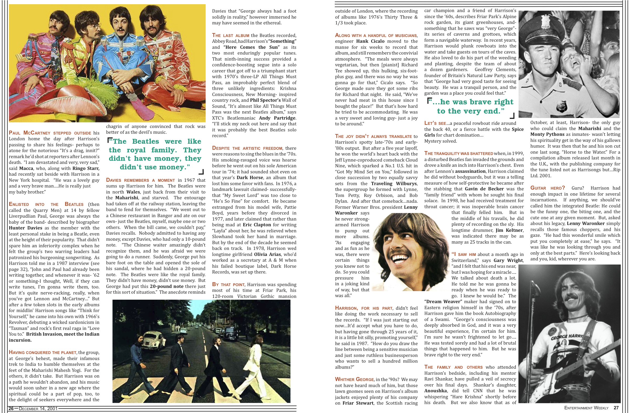 Amy Harding » Magazine Article Redesign